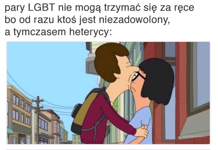 heterycy na ulicy